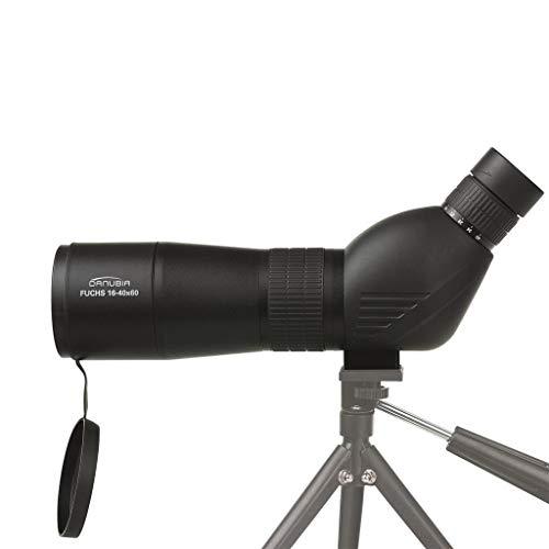 Dörr Danubia 538240 Zoom Spektiv Fuchs 16-40x60 (Gehäuse mit Gummiarmierung, 45 Grad Schrägeinblick) schwarz
