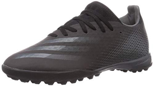 adidas X GHOSTED.3 TF, Zapatillas de fútbol Hombre, NEGBÁS/GRISEI/NEGBÁS, 47 1/3 EU