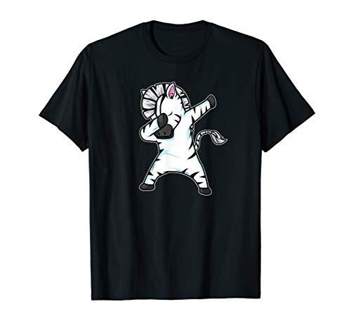 Lustiger Dabbing Zebra Geschenk Dab Dance Zebra T-Shirt