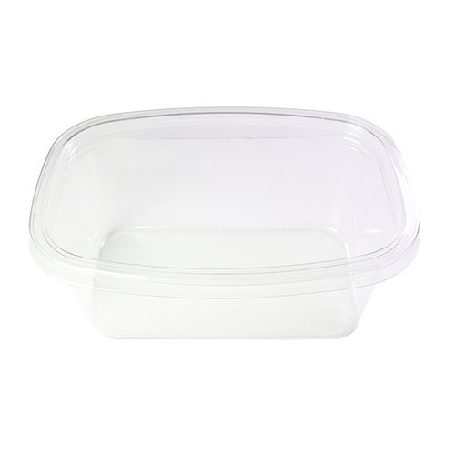 50/100 FBA Free All Clear With Lid Carry-Out Cake Storage (100)