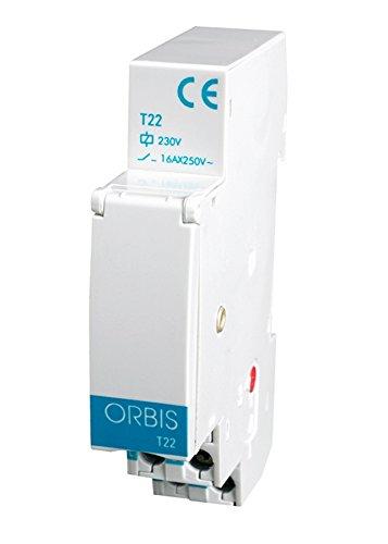 Orbis T-22 230 V Interruptor con Temporizador, OB063031