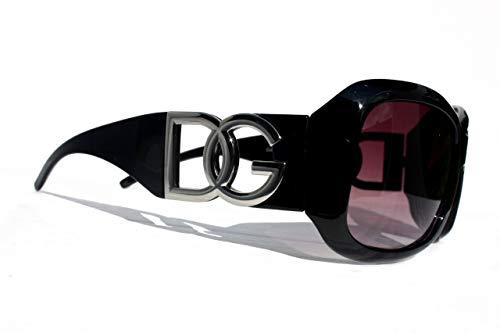Royaume-Uni meilleur prix Clairance de 60% DG Eyewear Women's Designer Sunglasses - Full UV400 Protection - Women  Fashion Black Oversized Sunglasses - Model : DG Vienna With FREE Pouch