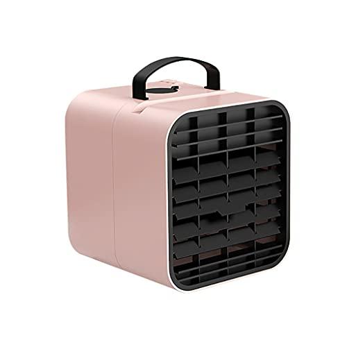 Zarupeng Mini condizionatore d'aria condizionatore d'aria condizionatore d'aria piccolo USB 3 velocità flusso d'aria silenzioso portatile per camera da letto, ufficio, festa del papà regalo a S