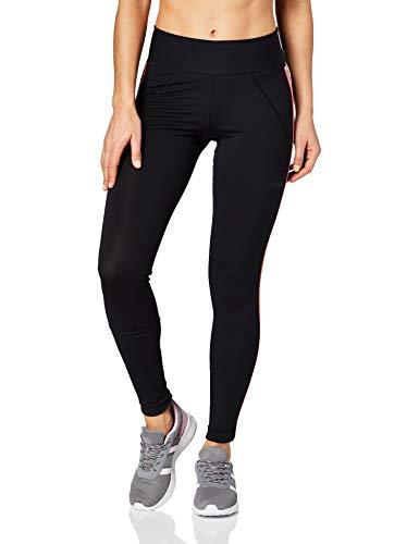 adidas Brilliant Basic Tight X Farm Damen-T-Shirts M Schwarz/Weiß