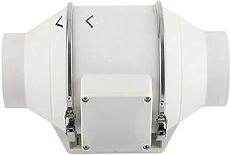 """4"""" 6"""" 8"""" Inline Duct Fan Pre-Wired Exhaust Fan, Speed Controllable Ventilation Fan Hydroponic Inline Exhaust Industrial Ve..."""