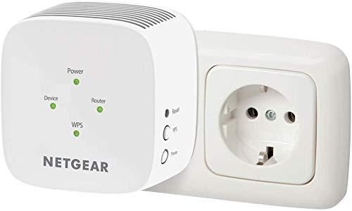 Netgear EX3110 AC750 Ripetitore WiFi Wireless, Wifi Extender Dual Band, Amplificatore WiFi Compatibile con Modem Fibra e Adsl