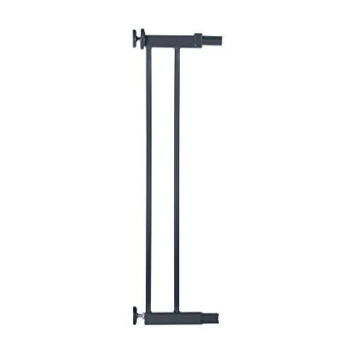Safety 1st Extensión para Easy Close Metal, Extensión de 14 cm para barrera de seguridad metálica, color negro - 14 cm