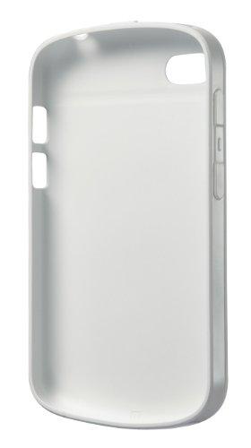 BlackBerry Soft Shell Case Handy-Cover für BlackBerry Q10 - Weiß