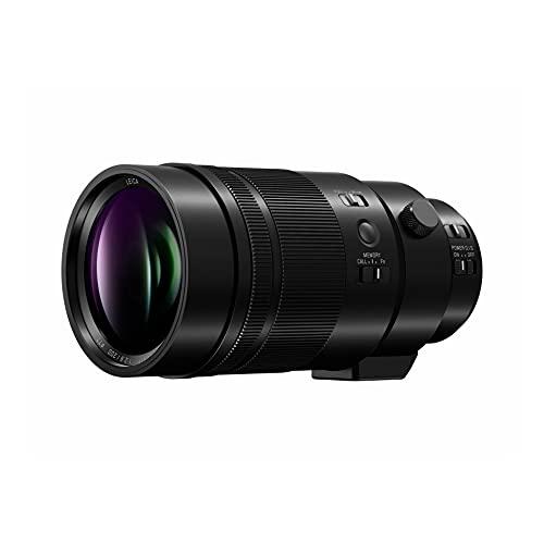 Panasonic LEICA DG ELMARIT H-ES200 - Objetivo Tele Zoom para cámaras de montura M4/3 (Focal 200 mm, F2.8, lentes asféricas, tamaño filtro 77 mm, resistente agua/polvo/congelación, POWER O.I.S), negro