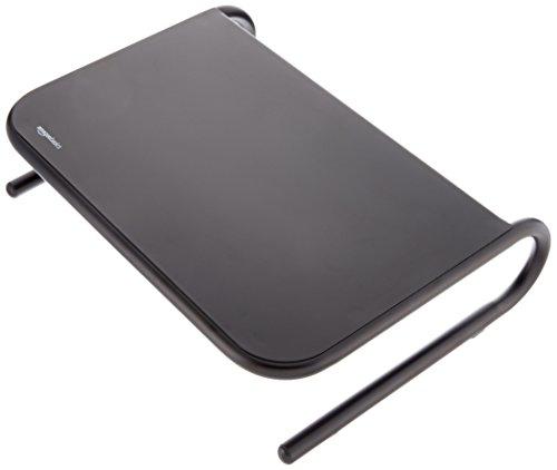 AmazonBasics beeldschermstandaard, metaal zwart, 8 stuks