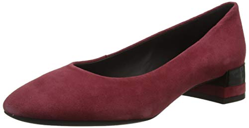 Geox Damen D CHLOO MID B Pumps, Rot (Bordeaux C7005), 39.5 EU