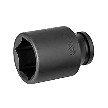 Jetech 3/4-Inch Drive 46mm Deep Impact Socket with 6-Point Design Heat-Treated Chrome Molybdenum Alloy Steel Metric