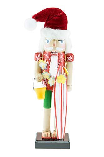 COMBINA CON CUALQUIER ESTILO NAVIDEÑO: este cascanueces decorativo es el complemento perfecto para darle un toque festivo y alegre a tu hogar. Este cascanueces completará cualquier estilo decorativo y seguro que llevará el espíritu de la Navidad a tu...