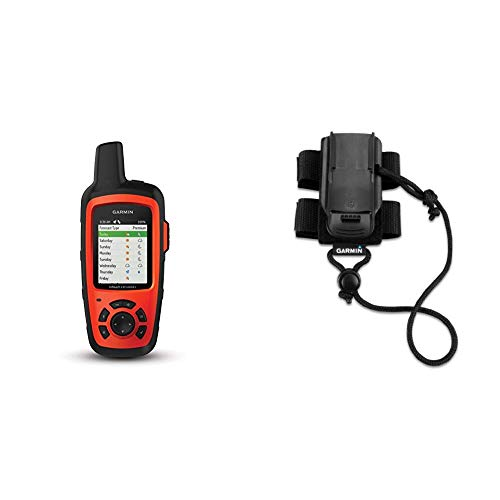 Garmin inReach Explorer+, Handheld Satellite Communicator with TOPO Maps and GPS Navigation & Backpack Tether Accessory for Garmin Devices