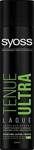 Syoss - Spray Laque Coiffant - Tenue Ultra - Aérosol 400 ml