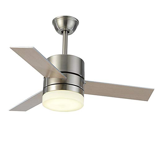 MAOS Lámpara de Techo con Ventilador, Ventilador de Techo con luz y Control Remoto, Velocidad de Viento Ajustable, lámpara de Ventilador de Sala de Estar Creativa Ultra Tranquilo