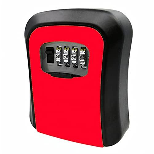 WanuigH Caja Fuerte para Llaves Caja de Bloqueo de Llaves de aleación de Aluminio Key Caja Segura Caja de Bloqueo de Teclas de Almacenamiento para Exteriores al Aire Libre Más Confiable