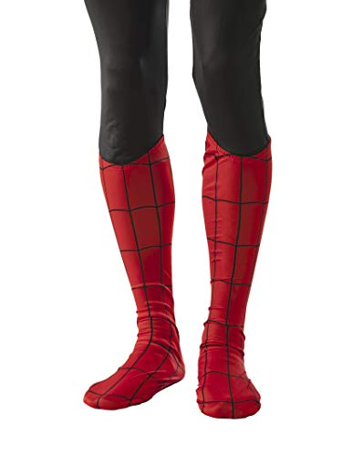 Rubie's Men's Marvel Universe Adult Spider-Man Boot Tops, Multi, One Size