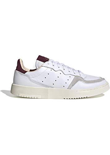 adidas Supercourt W Calzado ftwr white/maroon