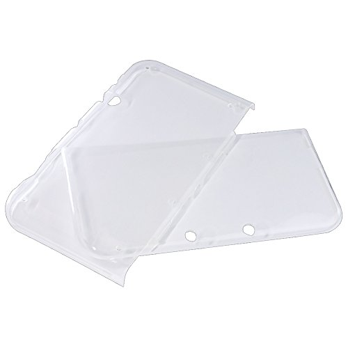 IINE New3DSLL version TPU case separated (clear)