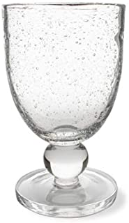Tag, Bubble Glass Goblet Clear