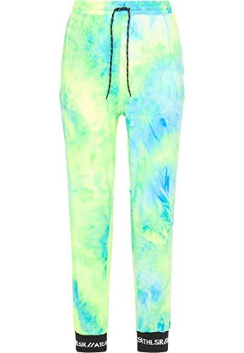 myMo ATHLSR Jogginghose Damen 13111576 neon grün, XS