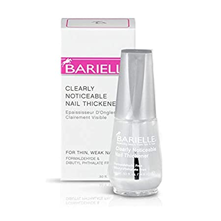 Beauty Shopping Barielle Clearly Noticeable Nail Thickener, Top Coat Instantly Thickens Nails Up