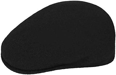Kangol 504 - Boina para Hombre, de lana negro 60/61