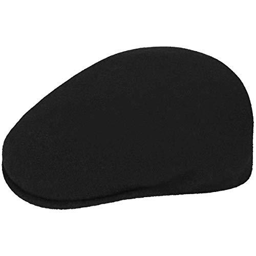 Kangol Wool 504 - Gorra unisex, talla XL, color Negro
