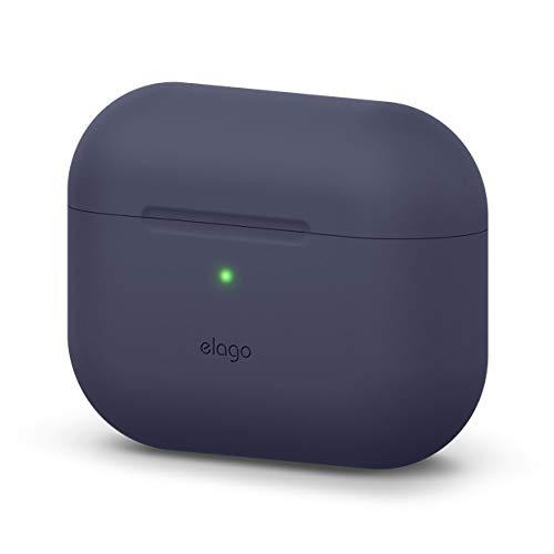 elago Original Funda Silicona Compatible con Apple AirPods Pro (2019) - 360° Protección de Cuerpo Completo, Premium...