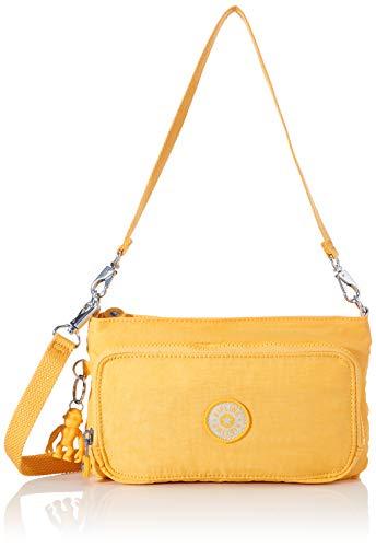 KiplingMyrteMujerBolsos bandoleraAmarillo (Vivid Yellow)24x14.5x4.5 Centimeters (B x H x T)