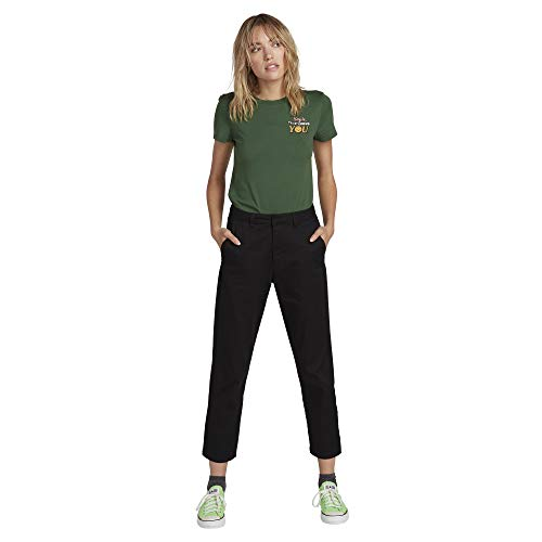 Volcom Dames Frochickie Rise Hoge Taille Chino Pant Jurk