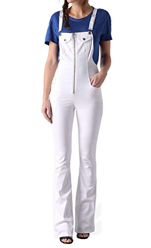 Diesel DE-Echo Tuta Damen Jeans Overall Latzhose (XS, Weiß)