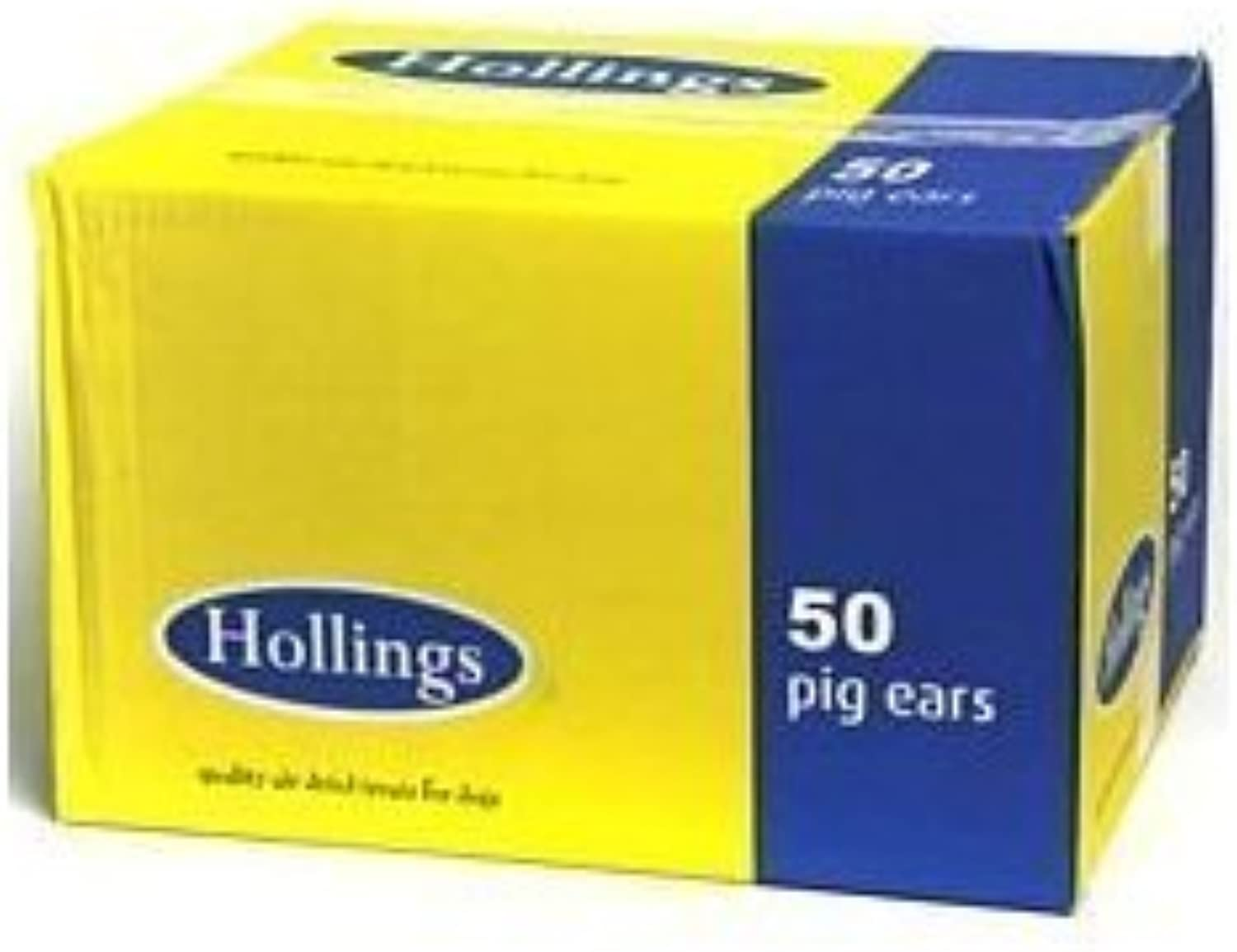 HOLLINGS PIGS EARS (50) ASST (SHIPPING ALL UK INC N IRELAND,HIGHLANDS AND ISLES