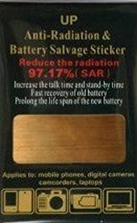 Anti-electromagnetic Radiation & Battery Salvage Patch – EMF Neutralizer and Battery Salvage, Anti-radiation and Battery Salvage Sticker, Anti-radio Frequency Electromagnetic Patch, EMF Shields and Battery Salvage Protector, Anti-Radiation Radioactivity Resistant Patch, Quantum Shield Anti-radiation Patch, EMF Harmonizer for Mobile Phones, Laptops, Digital Cameras, Computer Monitors, Wireless Router and Microwaves
