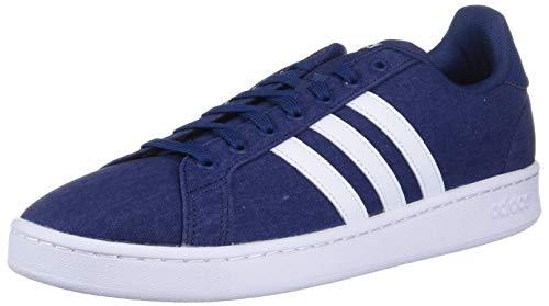 adidas Grand Court Zapatillas de Deporte para Hombre, Active Maroon/Running White/Core Bla, 38 EU, Color Azul, Talla 43 EU