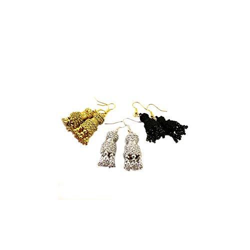 Pendientes taurinos'machos', diseño de ZiNGS - Azabache
