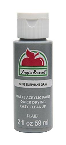 Apple Barrel Acrylic Paint in Elephant Gray