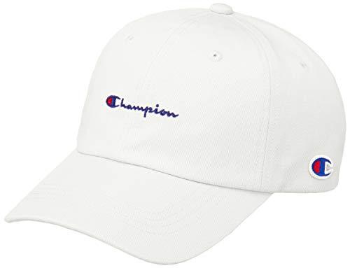 [チャンピオン] キャップ ベーシック 181-019A ホワイト 日本 57~59cm (FREE サイズ)