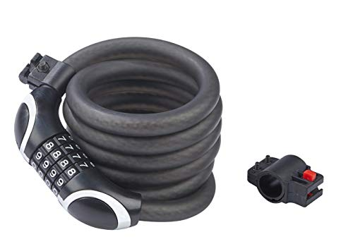 DANSI 44102 - Candado numérico programable, Color Negro