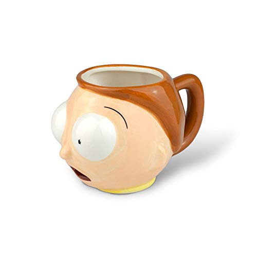 Rick and Morty Morty - Taza, diseño 3D