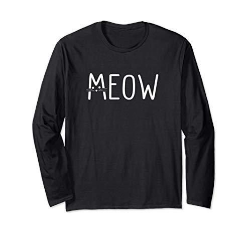 Meow | Katze | Mietze | Miau | Katzen Langarmshirt