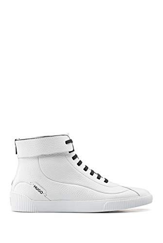 HUGO Damen Zero Mid Wave-C Sneaker, White100, 36