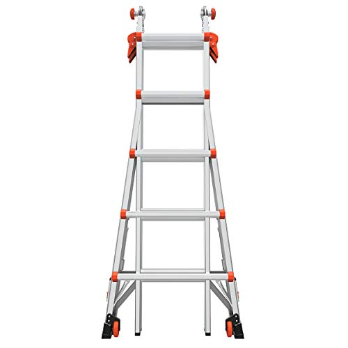Little Giant Ladder Systems 15422-801 Velocity 22 Type IA w/Ratcheting Levelers