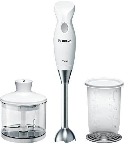 Bosch Elettrodomestici MSM6B500 CleverMixx Mixer a Immersione, 350 W, 1 Liter, 1 Decibel,...