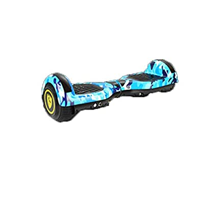zawq Hoverboard 6.5 Inch Smart Somatosensory Two-Wheeled Electric Balance Scooter For Adults-blue