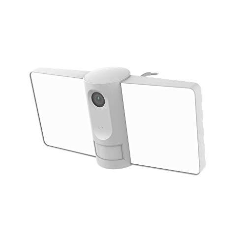 Laxihub F1 - Cámara IP exterior 1080P Floodlight con proyector y sirena IR 12 m