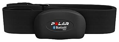 Polar H7 Bluetooth Heart Rate Sensor & Fitness Tracker (Black, Medium/XX-Large)