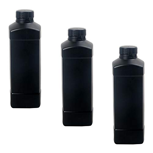 3X 1000ml Darkroom Chemical Stor...
