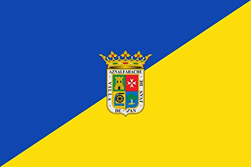 magFlags Bandera XL San Juan de Aznalfarache, Sevilla, España | Bandera Paisaje | 2.16m² | 120x180cm